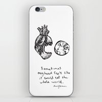 for the heart-hungry iPhone & iPod Skin