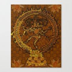 Shiva Mosaic Canvas Print