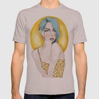 leogirl Mens Fitted Tee Cinder SMALL