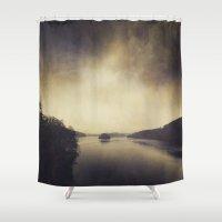 Quiet Water Shower Curtain