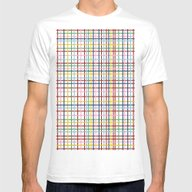 Rainbow Weave Mens Fitted Tee White SMALL
