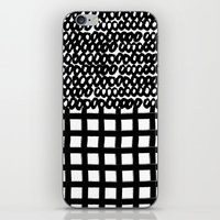 Circles and Grids iPhone & iPod Skin