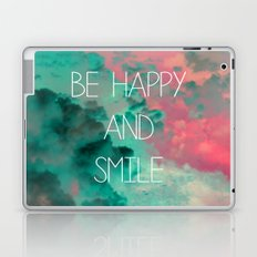 Be Happy and Smile Laptop & iPad Skin