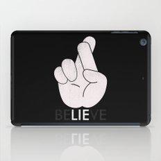Finger Crossed iPad Case