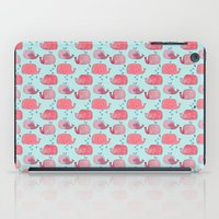 thousands of little pink wales iPad Case
