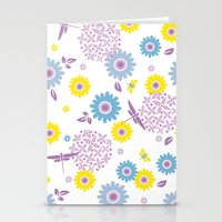 Summer Buzz Stationery Cards