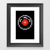2001: A Pixel Odyssey Framed Art Print