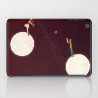 2 moons, a girl and a boy! iPad Case