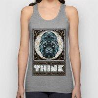 Think Unisex Tank Top