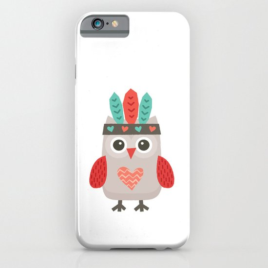 HIPSTER OWLET alternate version iPhone & iPod Case