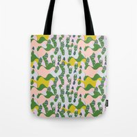 Whimsical Mountains Tote Bag