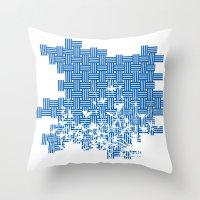 lawnchair Throw Pillow