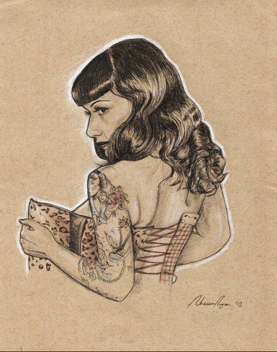 Anna Fur Laxis 2 Art Print
