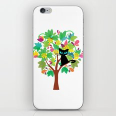 I tried to go to school but I got stuck in a tree instead iPhone & iPod Skin