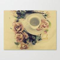 Canvas Print featuring Tea Please... by SmallIslandInTheSun