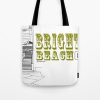 Brighton Beach Elevated Station Tote Bag