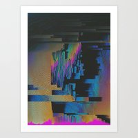 Bismuth Crystal Art Print