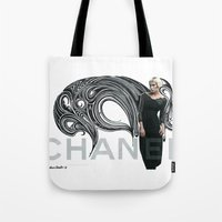 Chanel Ad Bomb By The Do… Tote Bag