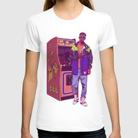 monster T-shirts featuring Monster Arcade by Mike Wrobel