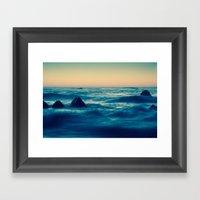 Give / Take Framed Art Print