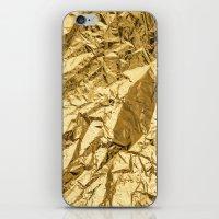 Golden iPhone & iPod Skin
