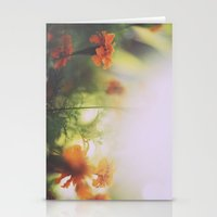Marigolds In Ubud Stationery Cards