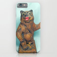 Sexy Hitchhiking Bear Statue iPhone 6 Slim Case