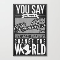 Revolution.  Canvas Print