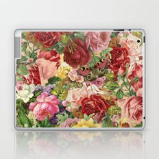 Vintage flower pattern Laptop & iPad Skin