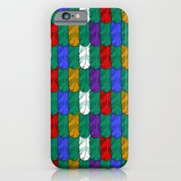 Feathers Pattern iPhone 6 Slim Case