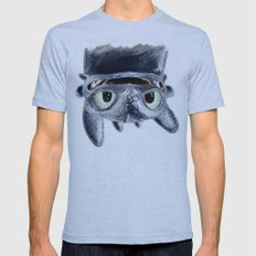Toothless (Upside Down) Mens Fitted Tee Athletic Blue SMALL
