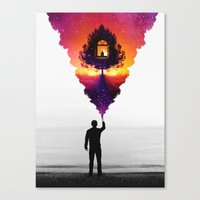 Find Your Light Canvas Print