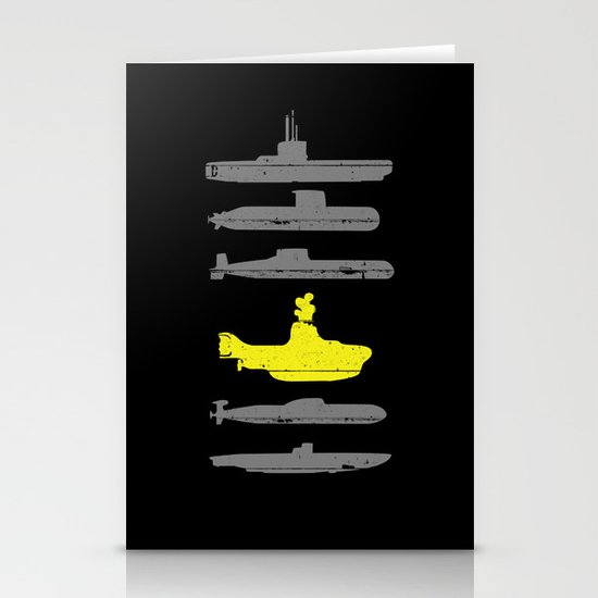 Know Your Submarines Stationery Card