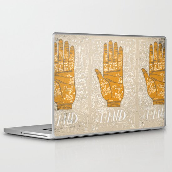 THE PALM READER Laptop & iPad Skin