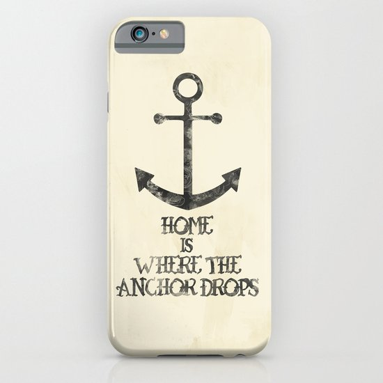Where The Anchor Drops iPhone & iPod Case