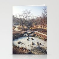 A Little Stream  Stationery Cards