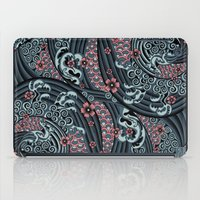 waves of tradition-blue iPad Case