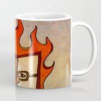 Prophets of Fiction - Ray Bradbury /Fahrenheit 451 Mug