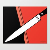 THE KNIFE Canvas Print