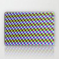 Crosshatch in Neon Laptop & iPad Skin