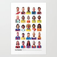 ship Art Prints featuring Playmakers by Daniel Nyari Pro