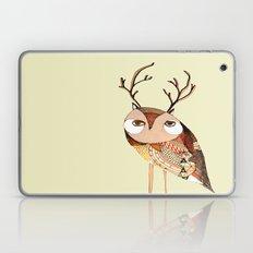 Owl Print, Owl Illustrat… Laptop & iPad Skin
