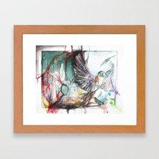 Bird Version II Framed Art Print