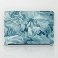 Soft Baby Blue Petal Ruf… iPad Case