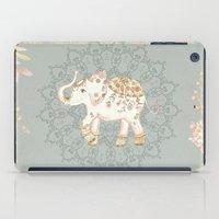 INDIAN SUMMER ELEPHANT by Monika Strigel iPad Case