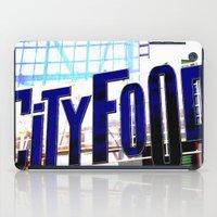 City Food iPad Case