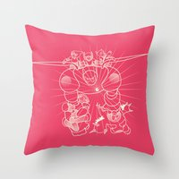 Flight BH6 Throw Pillow