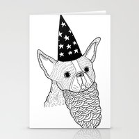 Dog Wizard Stationery Cards