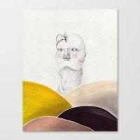 Flux Canvas Print