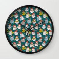 Pattern Project #50 / Li… Wall Clock